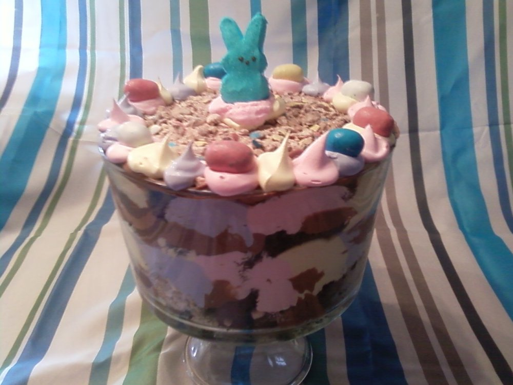 Easter Chocolate Malted Trifle (4/4)