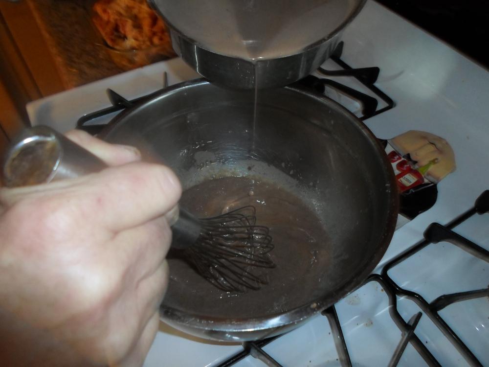 Warm Chocolate and Raspberry Custard Cake (3/6)