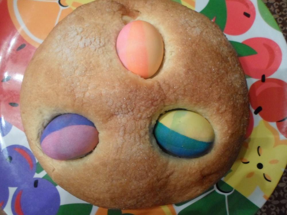 Easter Egg Sweet Bread (5/5)